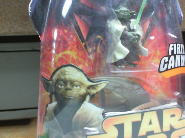 STAR WARS REVENGE OF THE SITH YODA