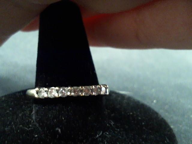 Lady's Diamond Engagement Ring 8 Diamonds .16 Carat T.W. 14K Yellow Gold 2.5g