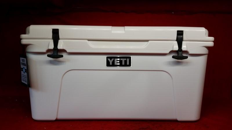 YETI Coolers YT65W Tundra 65 Quart 14.3 Gallon Ice Cooler White