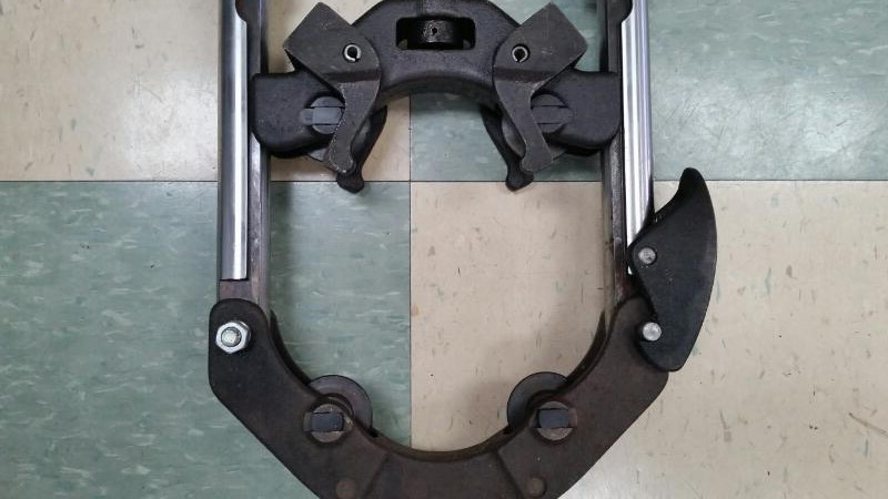 WHEELER-REX 95061 INDUSTRIAL PIPE CUTTER CUTS 4 TO 6 INCH PIPE