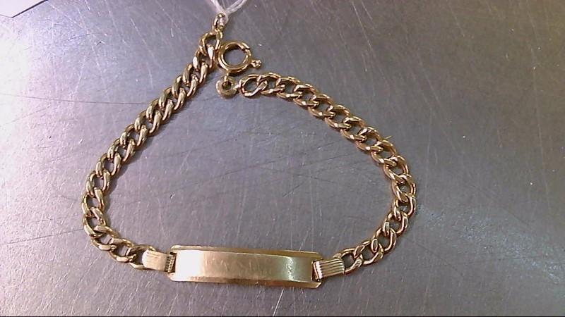 Gold Bracelet 18K Yellow Gold 5.56g