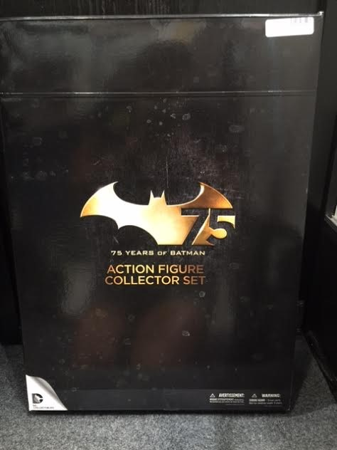 DC Collectibles: Batman 75th Anniversary Action Figure Set - 4-Pack