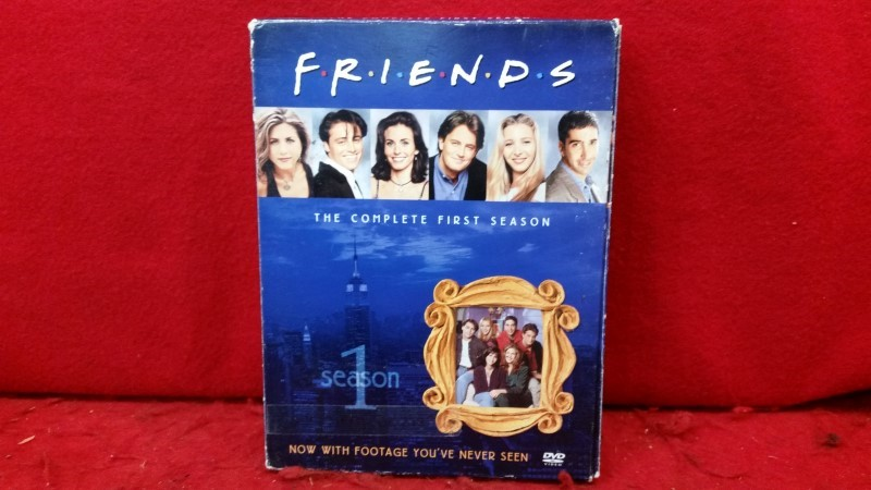 Friends - The Complete First Season (Season 1, DVD, 2002, 4-Disc Boxed Set)