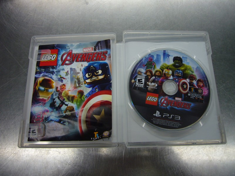 SONY PlayStation 3 Game MARVEL LEGO AVENGERS