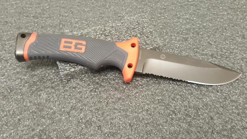 "Gerber Bear Grylls Ultimate Serrated Knife 4 1/2"" Blade"