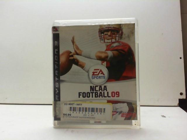 SONY Sony PlayStation 3 Game NCAA FOOTBALL 09