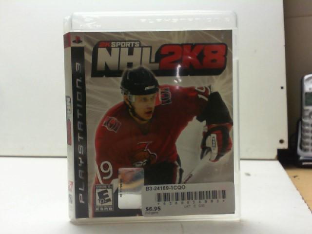 SONY Sony PlayStation 3 Game NHL 2K8