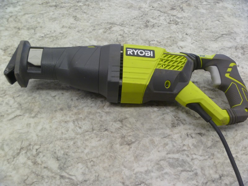 RYOBI RJ186V RECIPROCATING SAW **AS IS BLADE WON'T MOVE**