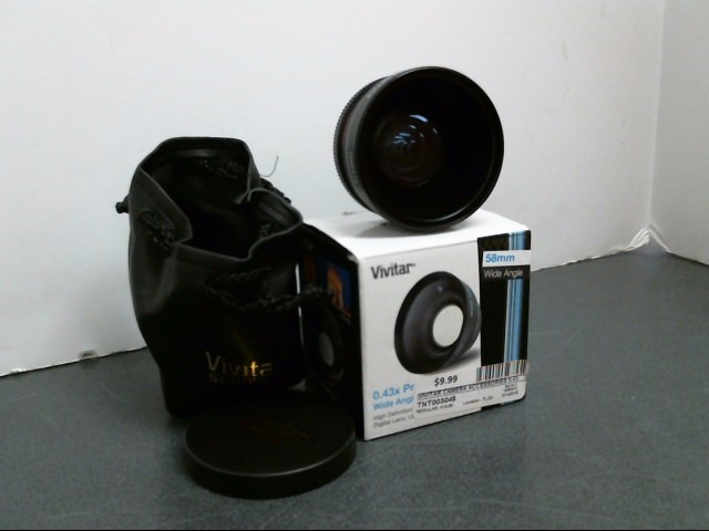 VIVITAR Camera Accessory 0.43-58MM MACRO