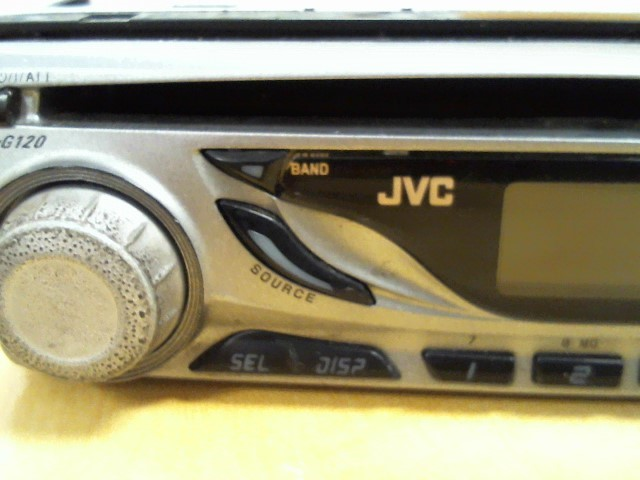 JVC Car Audio KD-G120
