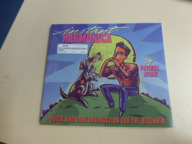 Hal Leonard Instant Harmonica by Patrick Byrne
