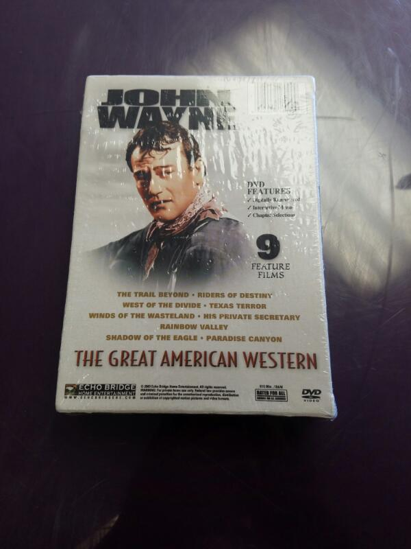 John Wayne The Great American Western DVD Set 9 Movies