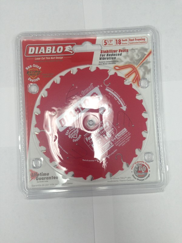 "DIABLO 5 1/2"" SAWBLADES D0518X"