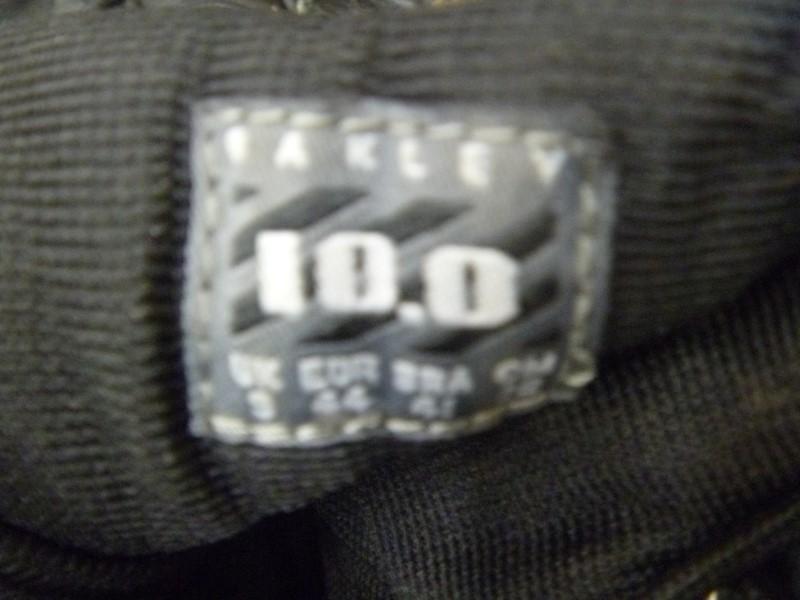 "OAKLEY 6"" SI ASSAULT BOOT MEN'S SIZE 10 (BLACK)"