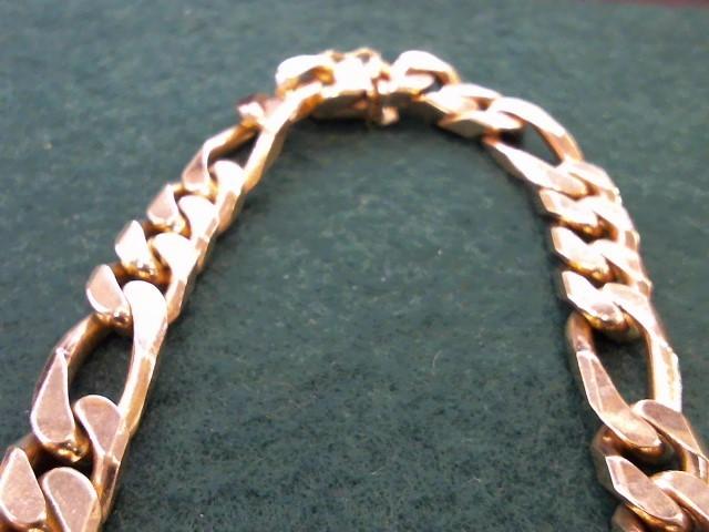 """20"""" Gold Figaro Chain 14K Yellow Gold 120.4g"""