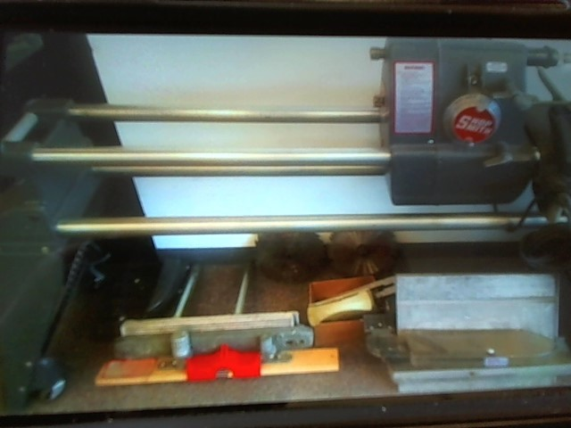 SHOPSMITH MARK V WORKSHOP with Lathe, Shaper, Table Saw, 2 Blades, 2 Chucks
