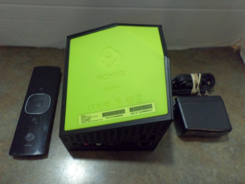 D-LINK Home Audio Parts & Accessory BOXEE