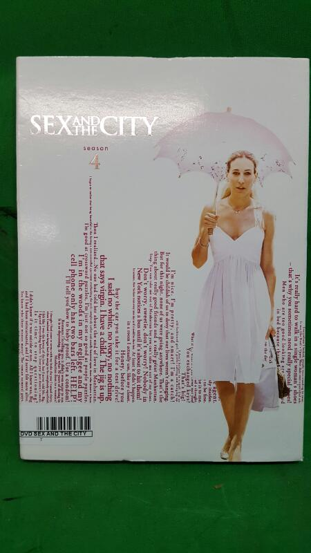 Sex and the City: The Complete Fourth Season (DVD, 2010, 3-Disc Set)