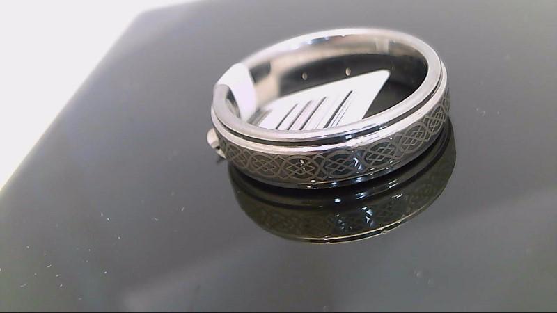celtic design gents tungsten carbide band size 11