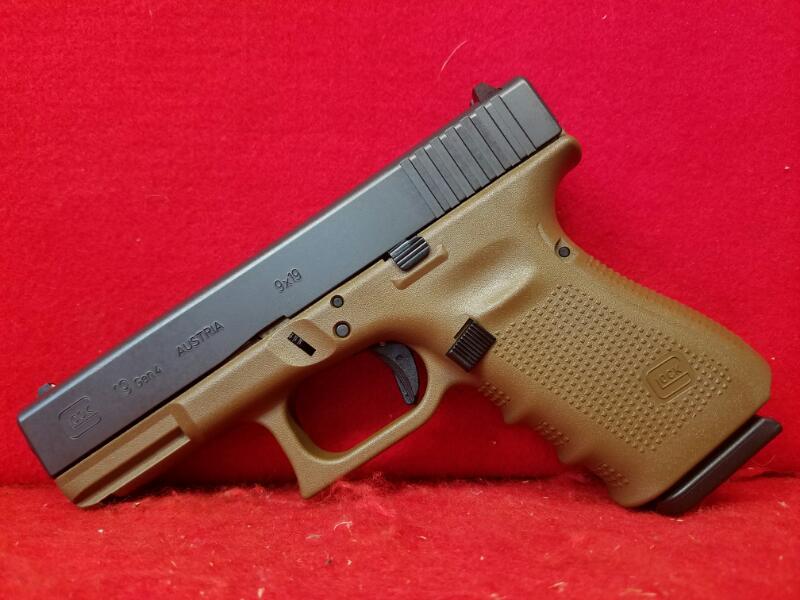 Glock 19 Gen IV 9mm Pistol - 3 Mags