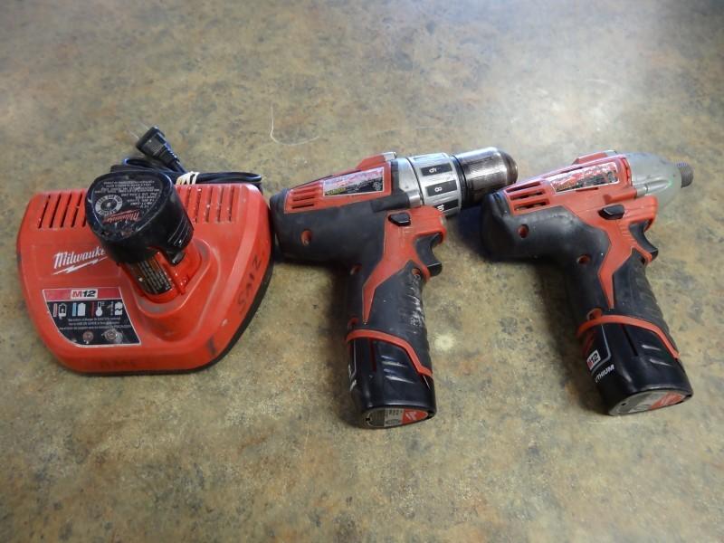 MILWAUKEE Cordless Drill 2410-20