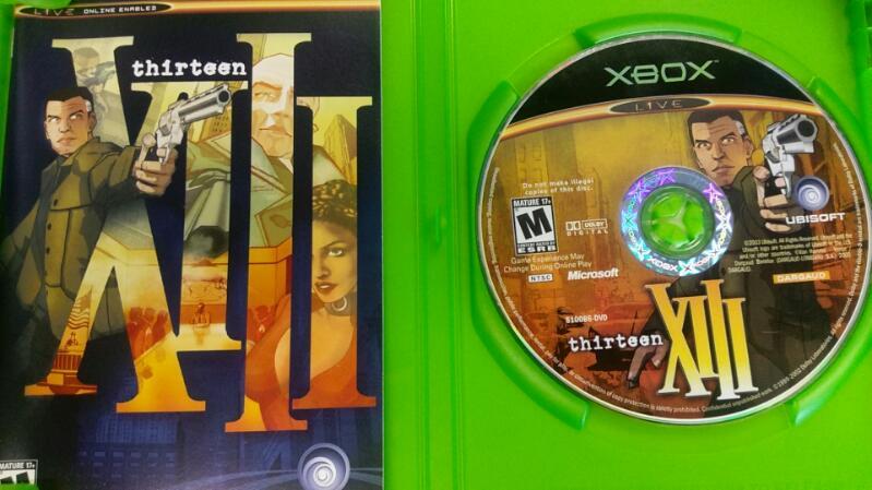 MICROSOFT XBOX THIRTEEN XIII VIDEO GAME
