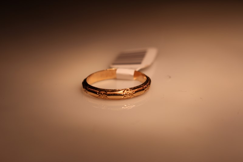 Gent's Gold Wedding Band 10K Yellow Gold 3.11g