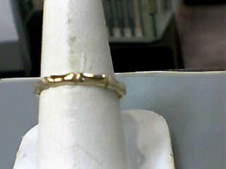Lady's Gold Ring 10K Yellow Gold 1dwt