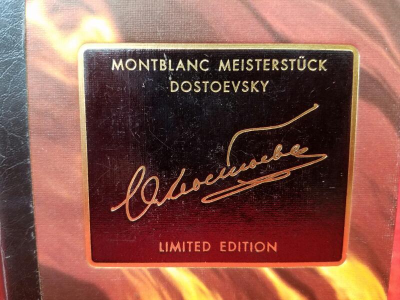 1995 Montblanc 18k Gold Meisterstuck Dostoevsky 4810 Fountain Pen