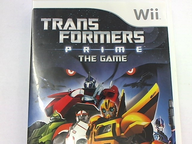 WII  TRANSFORMERS PRIME THE GAME