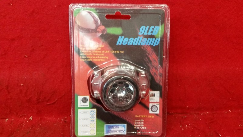 9 LED Headlamp - Ultra Bright