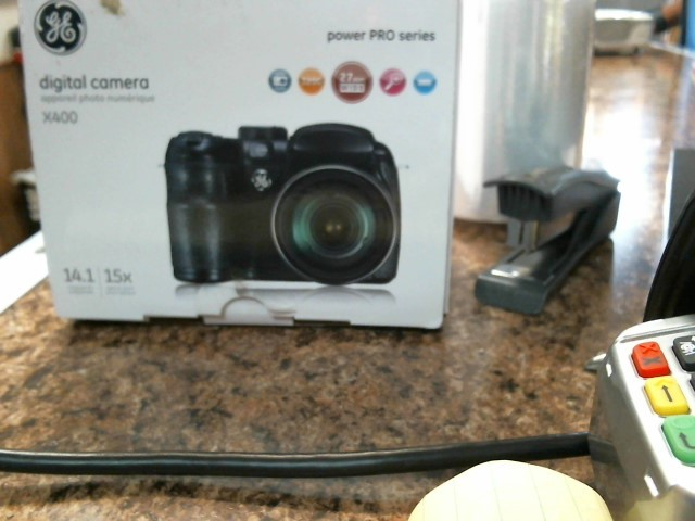 GE Digital Camera DIGITAL CAMWRA X400