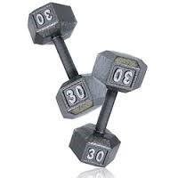 Exercise Equipment 30LB DUMBELL SET