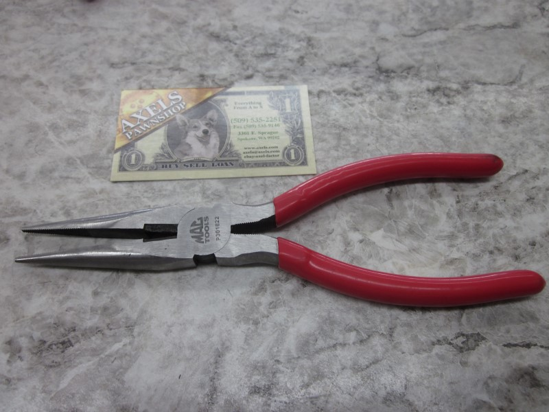 MAC TOOLS NEEDLE NOSE PLIERS 8""