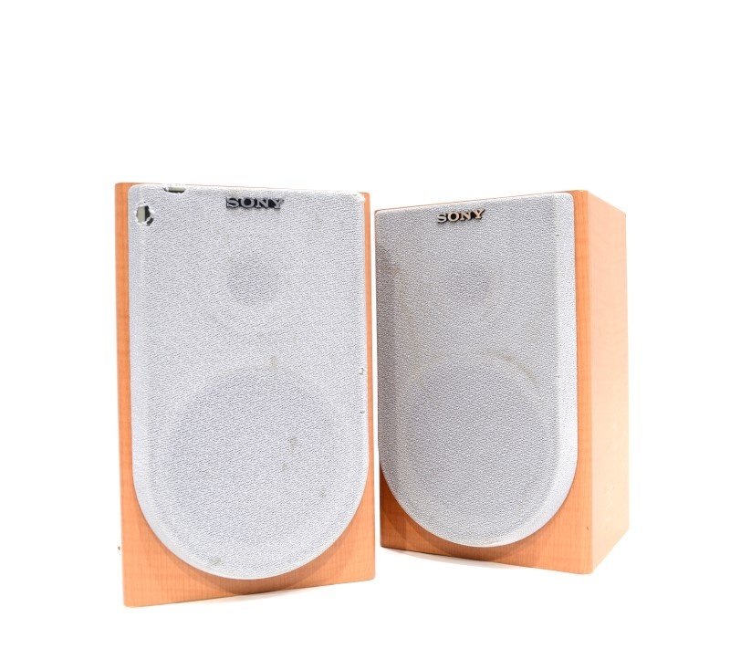 Pair of Sony SS-CNE3 2-Way Bookshelf Speaker