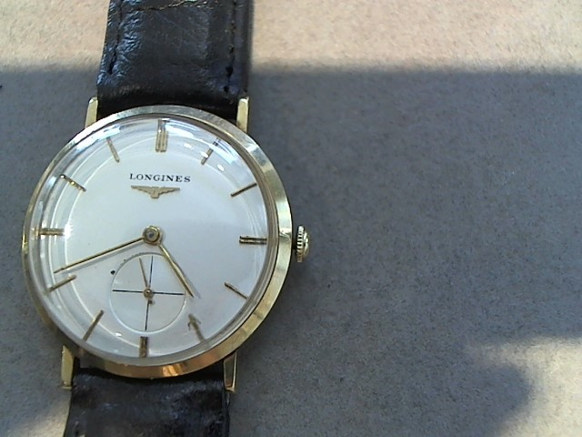 LONGINES Gent's Wristwatch VINTAGE 14K MENS WRISTWATCH