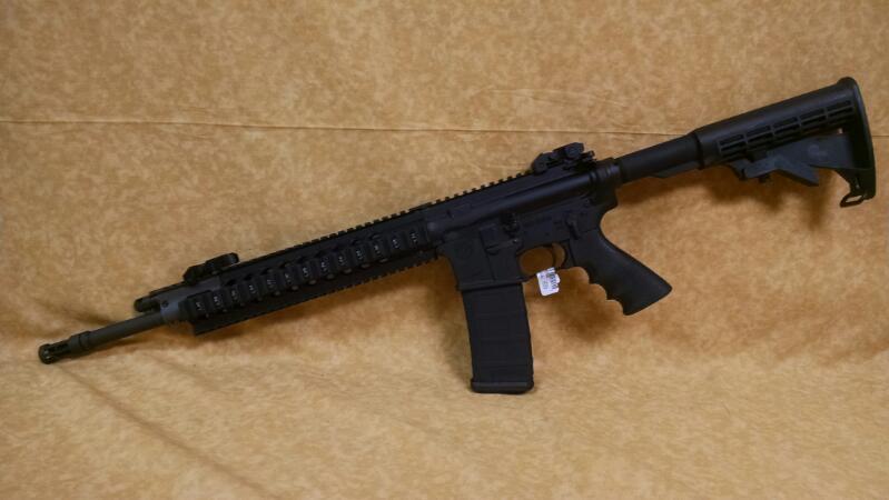 Ruger SR-556 FB 5.56/223 AR15 Rifle - Black