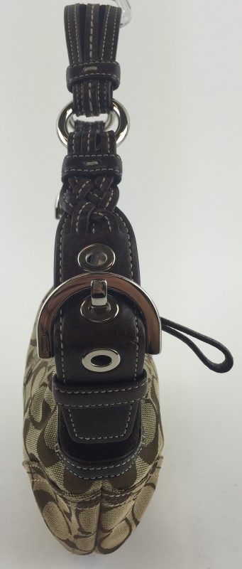 COACH 6266 BROWN SIGNATURE SOHO BAG