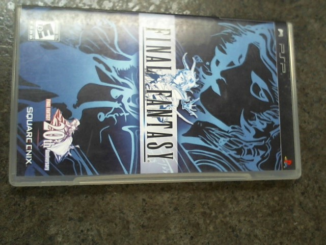 SONY Sony PSP Game FINAL FANTASY PSP