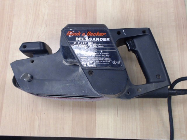 BLACK&DECKER Belt Sander 7447 BELT SANDER