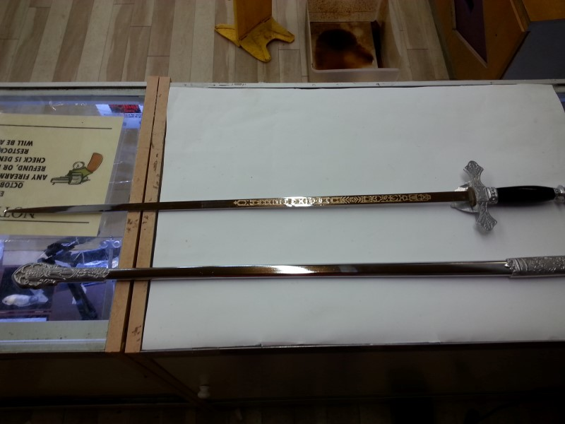 Knights of Colombus Ceremonial Sword