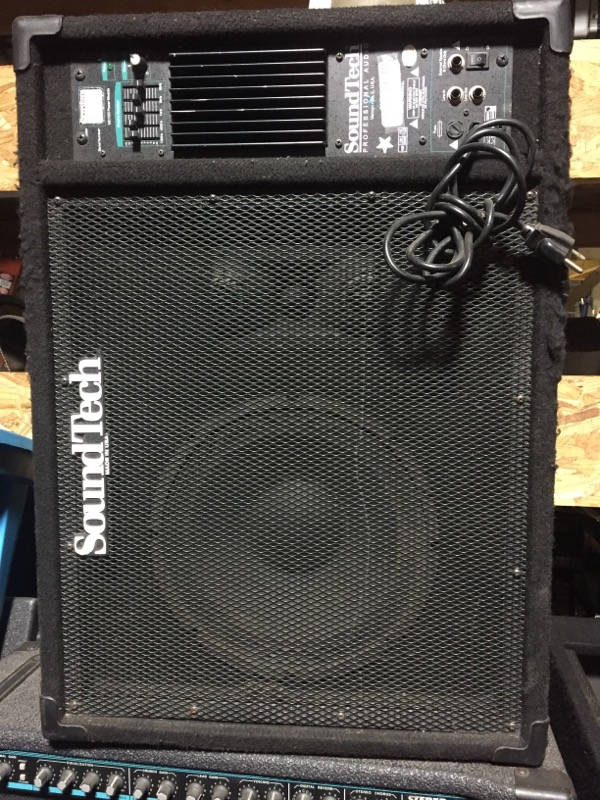 SOUND TECH SYSTEMS Electric Guitar Amp MC100