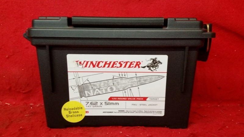 Winchester Plastic Ammo Can - Empty