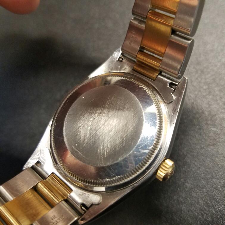 ROLEX Gent's Wristwatch 14233 MID 18K STEEL & GOLD