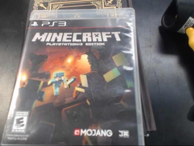 MOJANG Sony PlayStation 3 Game MINECRAFT PS3