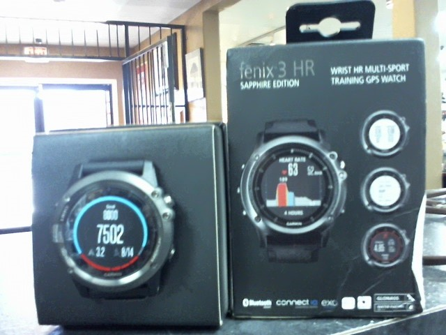 GARMIN Gent's Wristwatch FENIX 3 HR