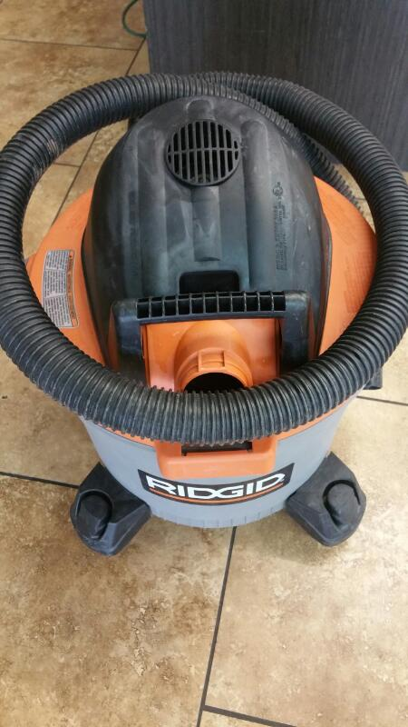 RIDGID TOOLS Vacuum Cleaner WD09500