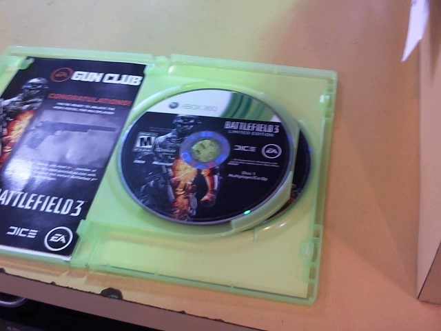 MICROSOFT Microsoft XBOX 360 Game BATTLEFIELD 3 LIMITED EDITION