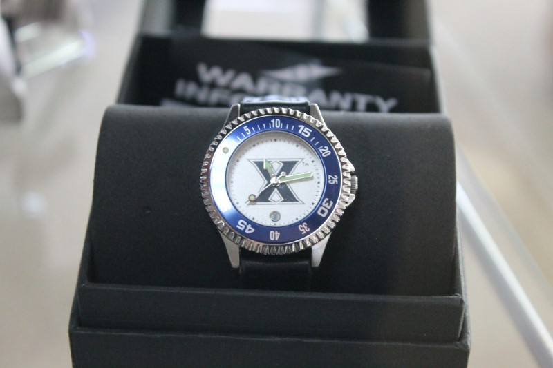 Suntime Xavier University Musketeers Lady's Wrist Watch