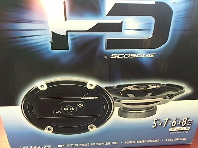 SCOSCHE 5X7 - 6X8 SPEAKERS HD57683A